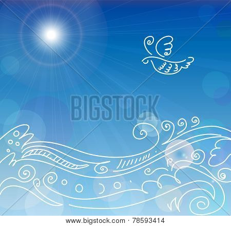 Decorative sea