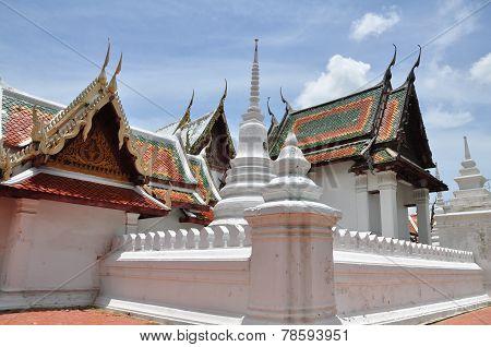 Wat Yai Suwannaram, Phetchaburi, Thailand.