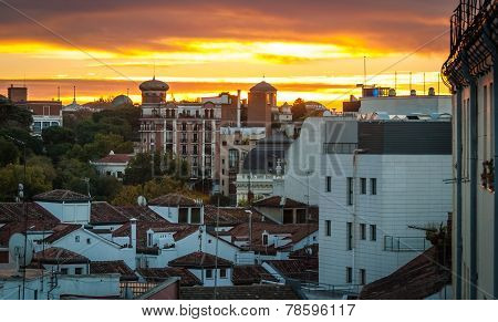 sundown in Barcelona