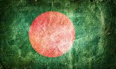 stock photo of bangla  - Flag of Bangladesh - JPG