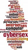 foto of masturbate  - Cybersex Word Cloud Concept - JPG
