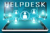 stock photo of helpdesk  - Helpdesk  - JPG