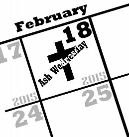 picture of february  - 2015 ash wednesday - JPG