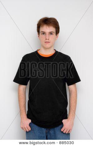 Hombre a los quince años
