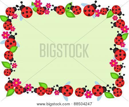 Ladybugs Frame