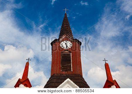 Wooden Church In Small Villages, Czech Republic