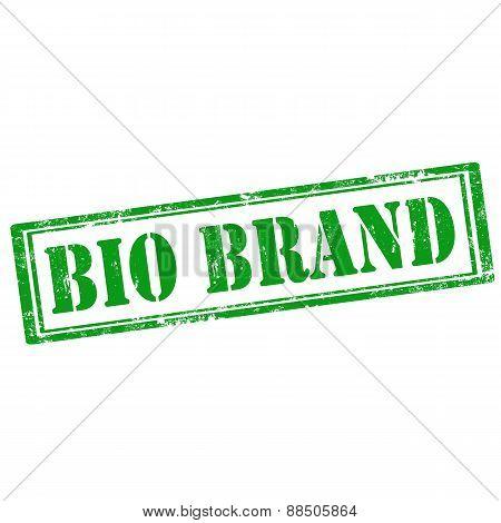 Bio Brand-stamp