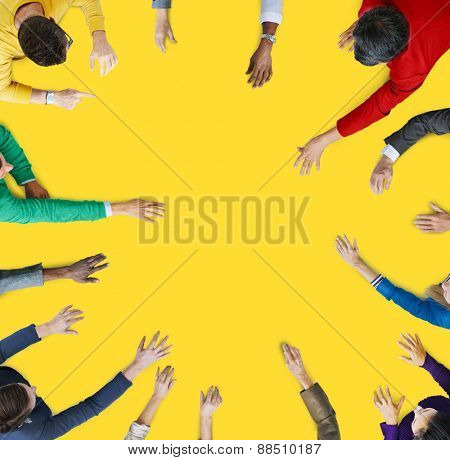 Diversity Group of Business People Meeting Planning Concept