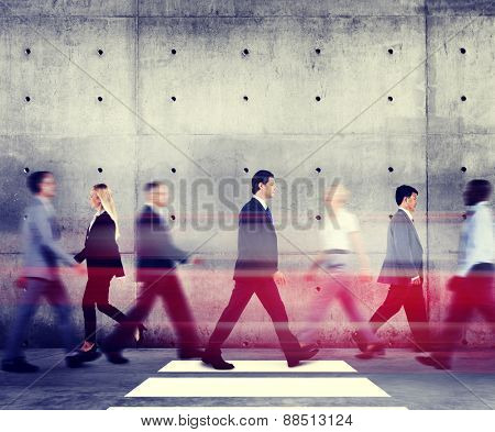 Business People Corporate Organization Working Concept