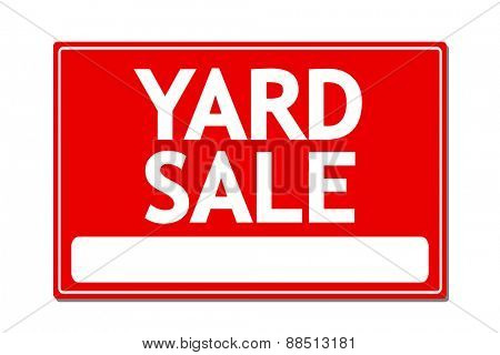 Yard Sale Vector Sign