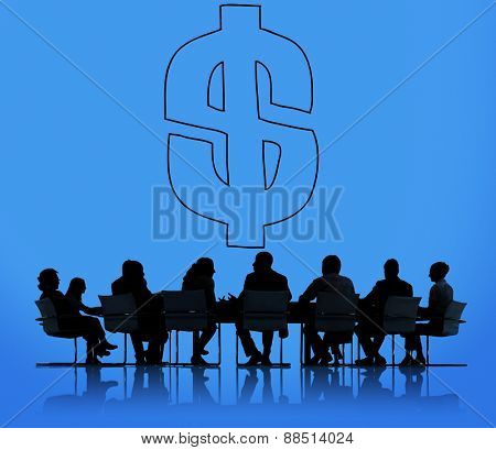 Dollar sign Currency Economy Financial Exchange Concept