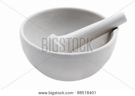 mortar and pestle, vector