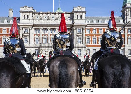 Changing Of The Guard Ceremony In London