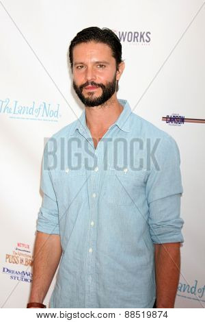 LOS ANGELES - FEB 19:  Jason Behr at the Milk+Bookies Sixth Annual Story Time Celebration at the Toyota Grand Prix Racecourse on April 19, 2015 in Long Beach, CA