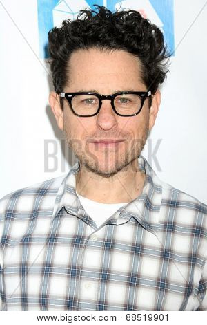 LOS ANGELES - FEB 19:  J.J. Abrams at the Milk+Bookies Sixth Annual Story Time Celebration at the Toyota Grand Prix Racecourse on April 19, 2015 in Long Beach, CA