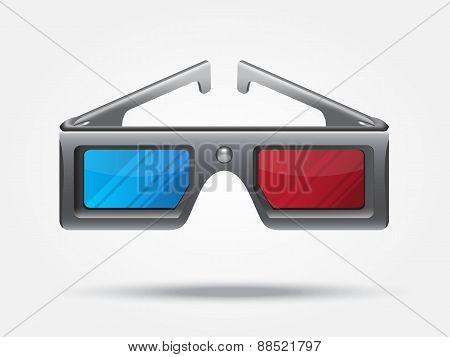 3d stereo glasses