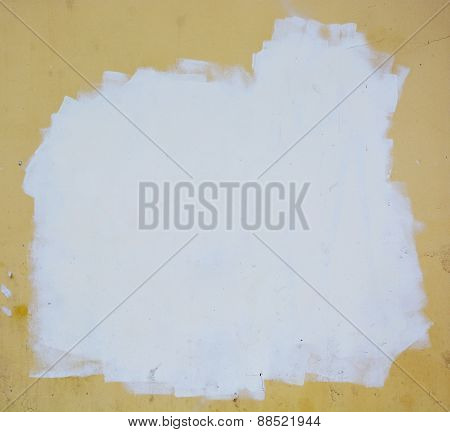 Stucco Wall. Picture Can Be Used As A Background