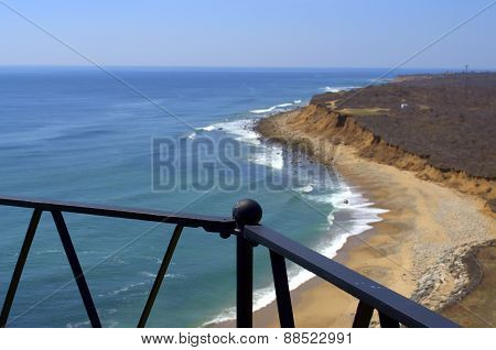 View from Montauk Point Lightouse Observatory