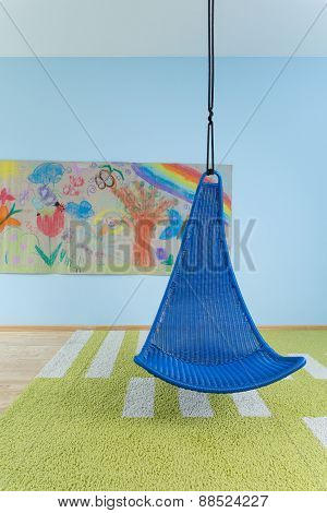 Indoor Swing In Child's Room