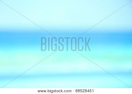 Blurred view of ocean water background