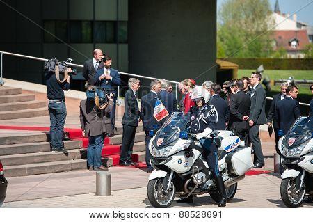 Official Visit To Strasbourg - Royal Visit