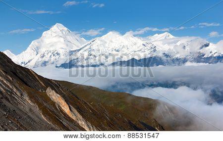 Mount Dhaulagiri - Dhaulagiri Himal - Nepal