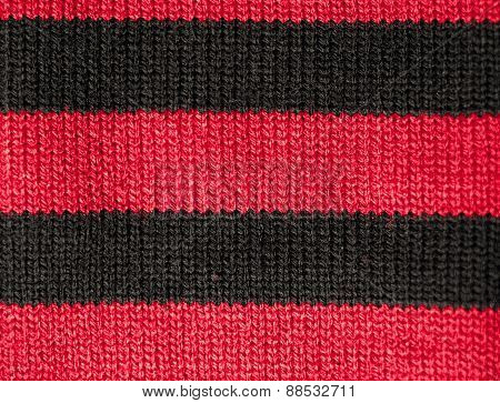 Part Of The Surface Of Sweaters. Macro