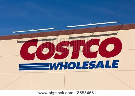 Costco Wholesale Store Exterior
