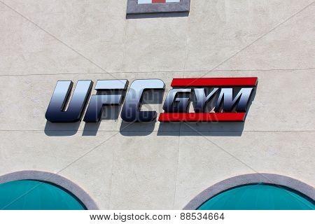 Ufc Gym Exterior And Logo