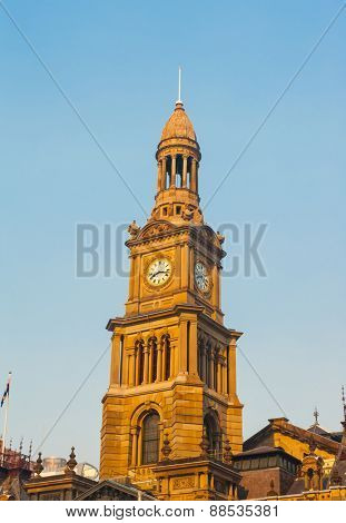 Sydney city hall, Australia