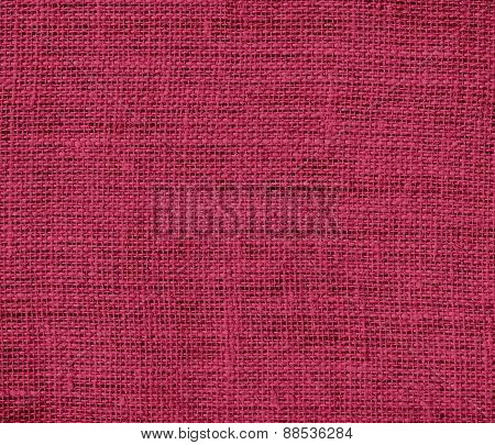 Burlap amaranth deep purple texture background