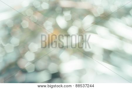 Shiny Metallic Bokeh