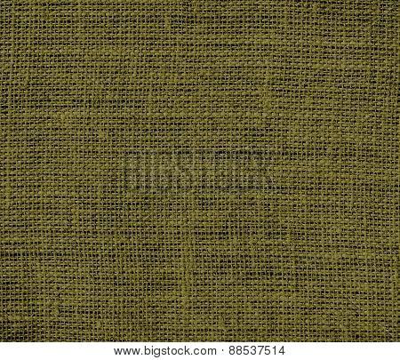 Burlap antique bronze texture background