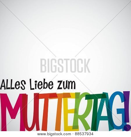 Bright Typographic German