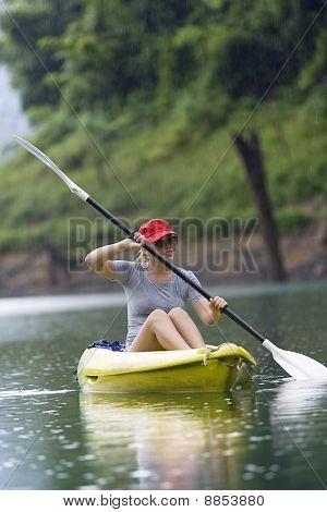 hand paddling