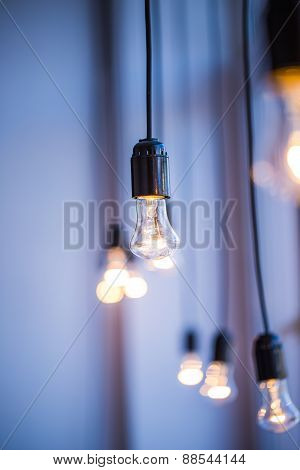 Lighting decor with beautiful and bright lights