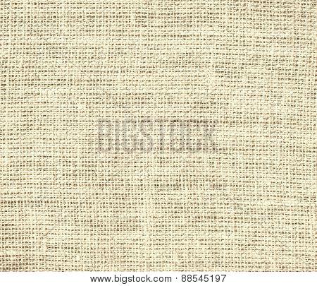 Bisque color burlap texture background