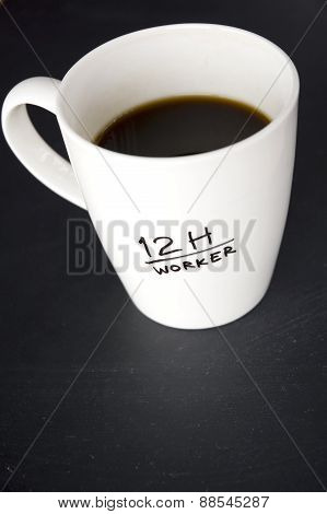 Overtime Worker Mug