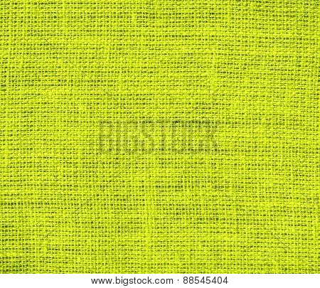 Burlap Bitter lemon texture background