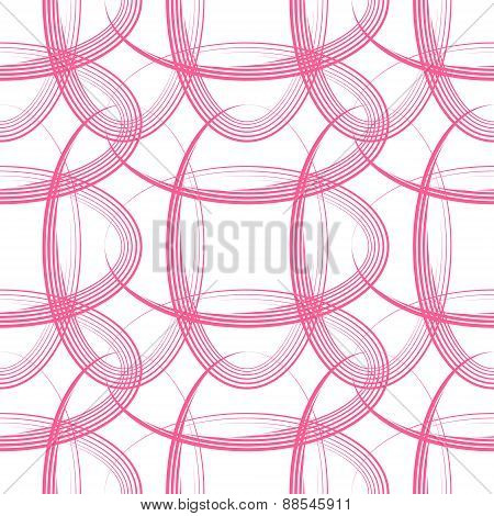 Modern Pink Ellipse Shape
