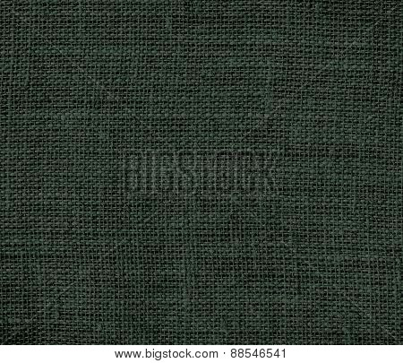 Burlap Black leather jacket texture background