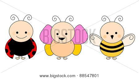 Cute Baby Insects
