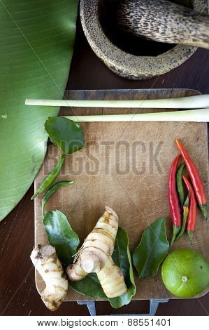 Tomyum Ingredients