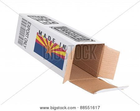 Concept Of Export - Product Of Arizona