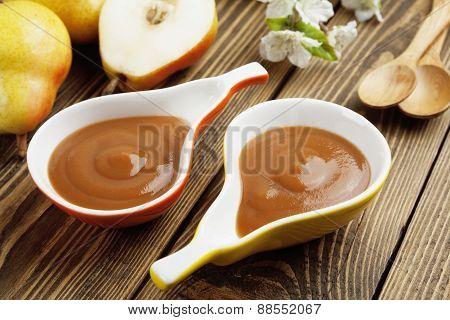 Pear Puree, Baby Food