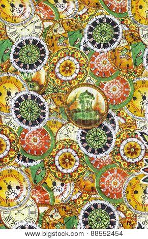 Detail Pattern Of Batik Fablic