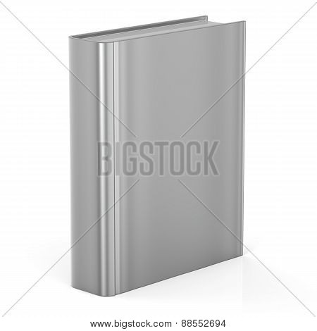 Book Empty Blank Cover Template Brochure Single Textbook