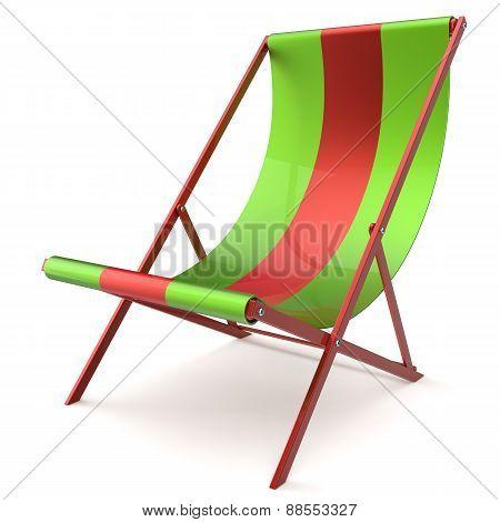 Beach Chair Chaise Longue Sunbathing Furniture Nobody