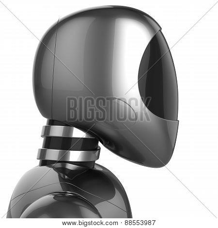 Cyborg Bot Futuristic Robot Dummy Metallic Chrome Concept