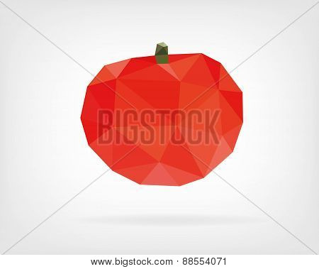 Low Poly Tomato